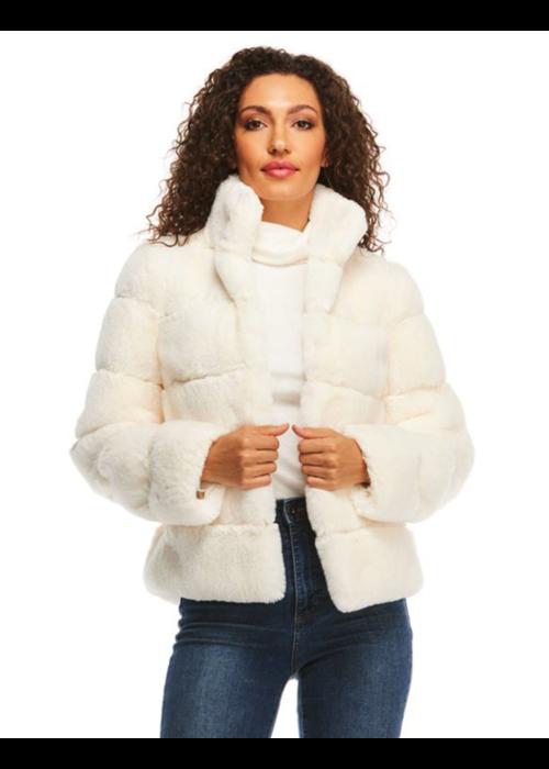 Donna Salyers Posh Jacket- Ivory