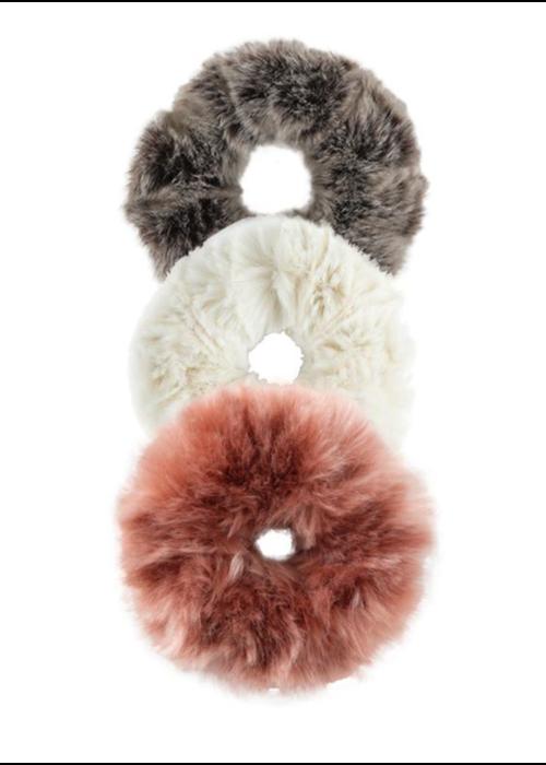 Donna Salyers Faux Fur Scrunchie-Light Collection