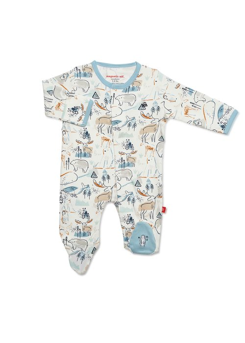 Magnetic Baby MAG Northern Lights Modal Magnetic Footie