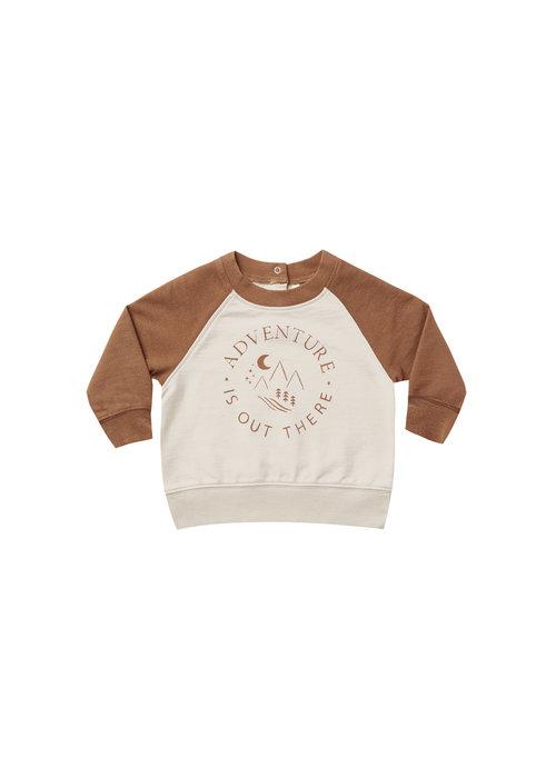 Rylee & Cru R+C Long Raglan Sweatshirt Adventure