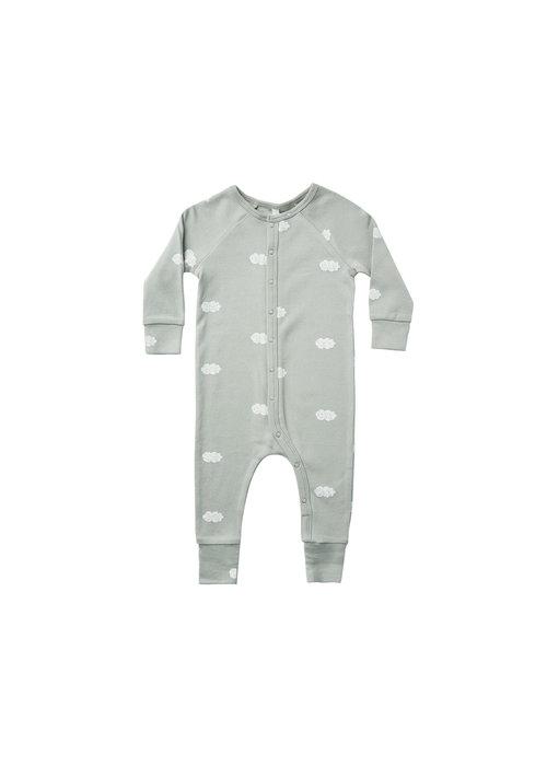 Rylee & Cru R+C Longjohn Pajamas-Clouds