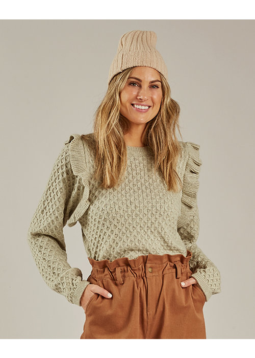 Rylee & Cru R+C Women's La Reina Sweater-Agave