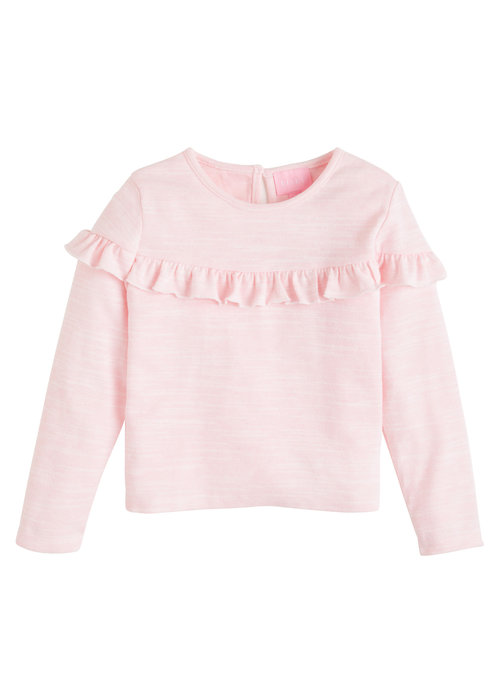Little English Emily Top- Pink