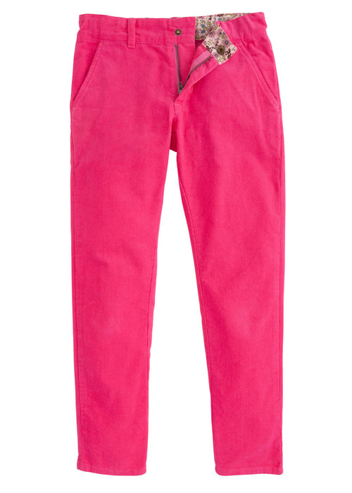 Bisby Twiggy Cords- Hot Pink