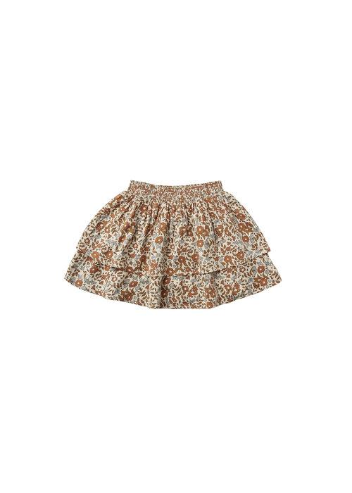 Rylee & Cru R+C Bloom Tiered Mini Skirt