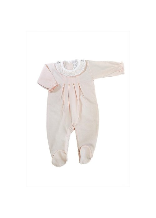 Baby Threads/Marco Lizzie Pretty In Pink Footie