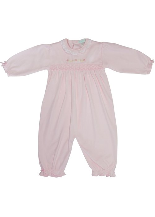 Baby Threads/Marco Lizzie Rose Pink Converter Gown