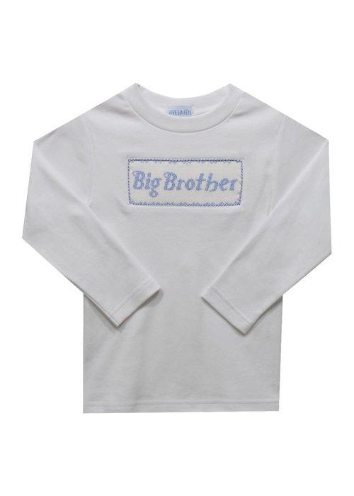Vive la Fete Big Brother Smocked Long Sleeve Tee