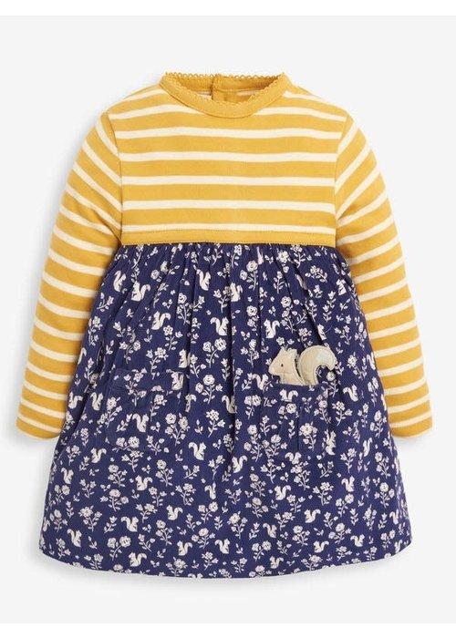 Jojo Maman Bebe' Squirrel Print Dress