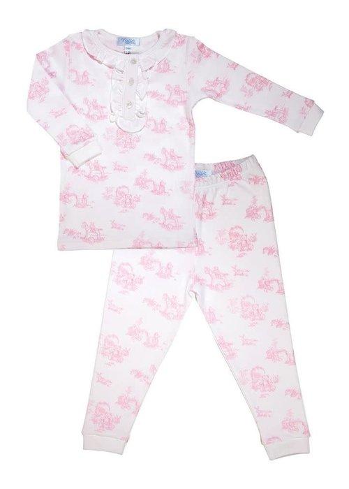 Nellapima Pink Toile Pajamas