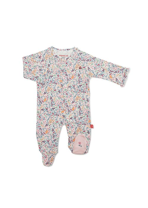 Magnetic Baby Magnetic Me Sheffield Organic Cotton Magnetic Footie
