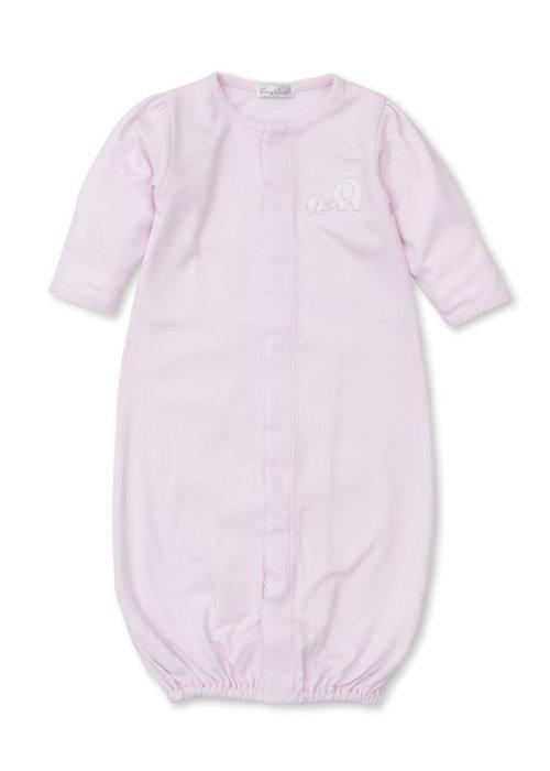 Kissy Kissy KK Pique Elephant Conv. Gown-Pink