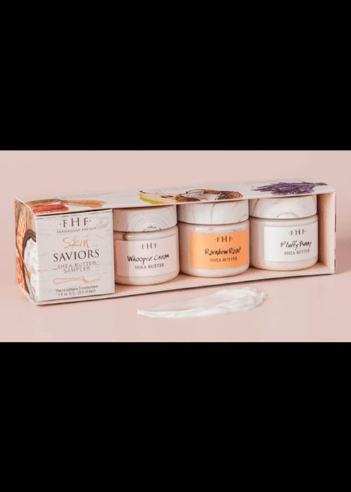 Farmhouse Fresh FHF Skin Saviors Shea Butter Sampler Set