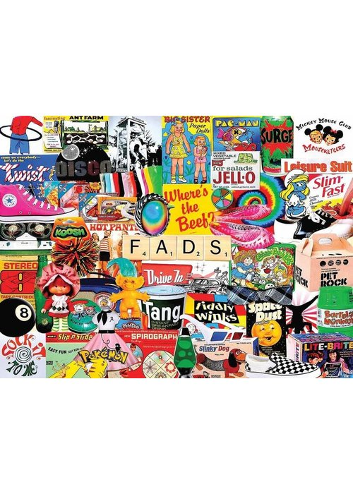 WMP Fads 1000 Piece Puzzle