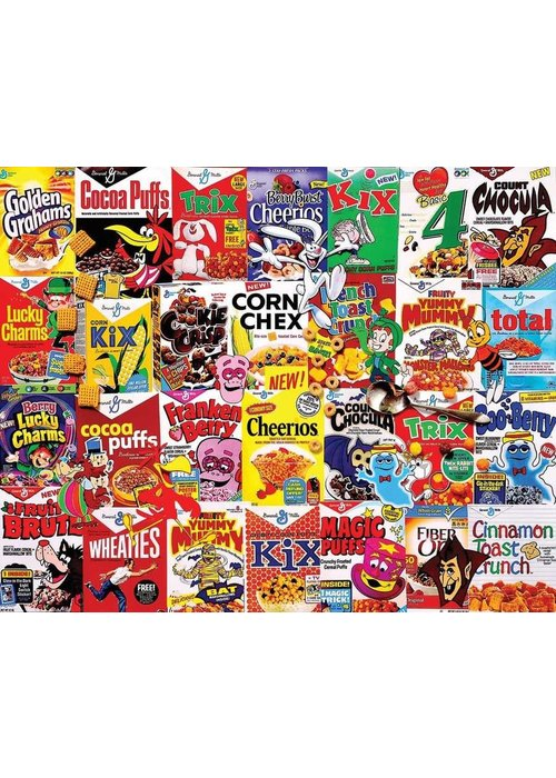 WMP Cereal Boxes 1000pc Puzzle