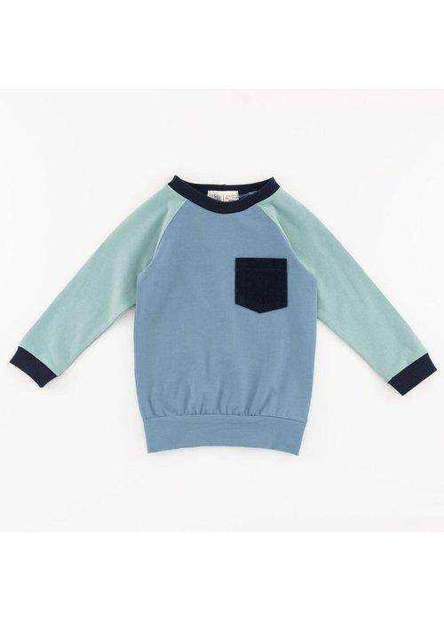 Thimble Collection Raglan Pocket Sweatshirt
