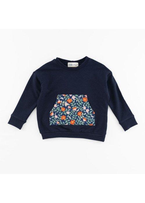 Thimble Collection Bamboo Sweatshirt-Poppy