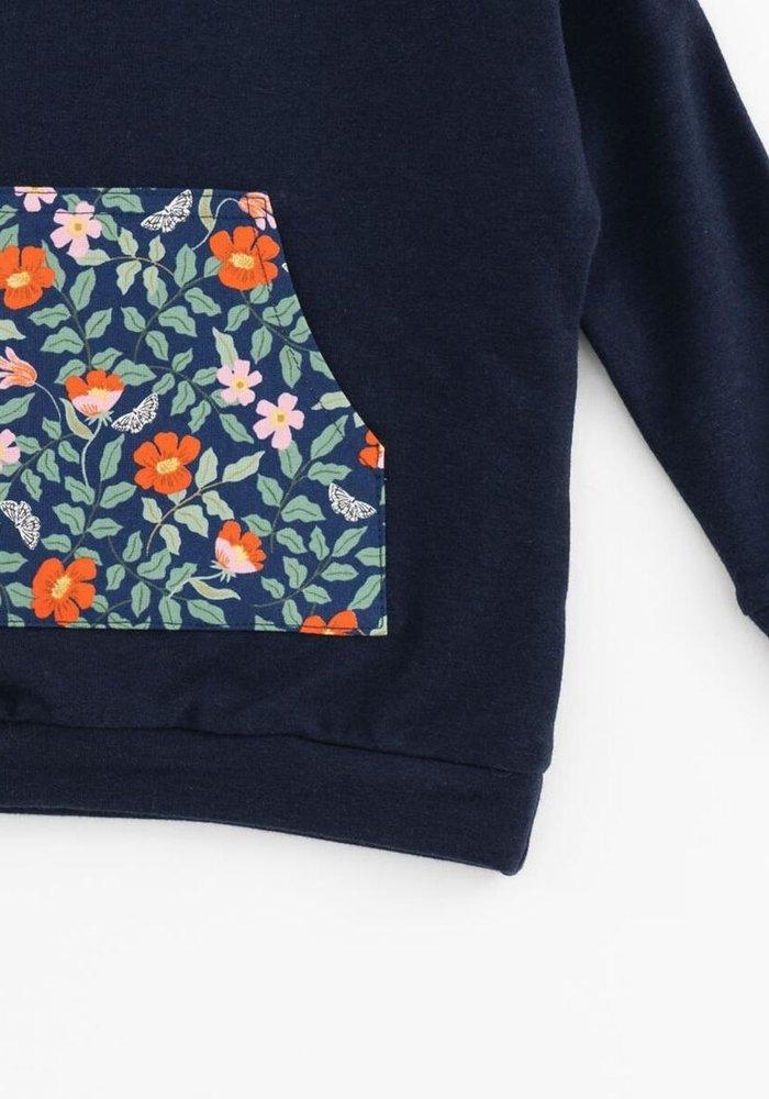 Bamboo Sweatshirt-Poppy