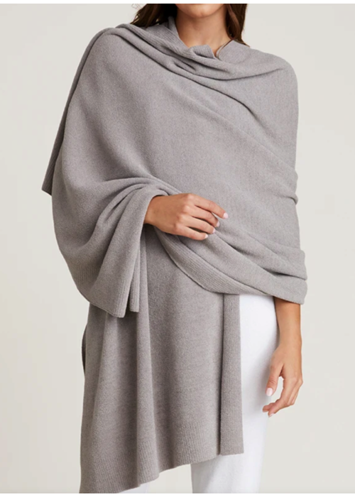 Barefoot Dreams BFD CCUL Pashmina- Pewter