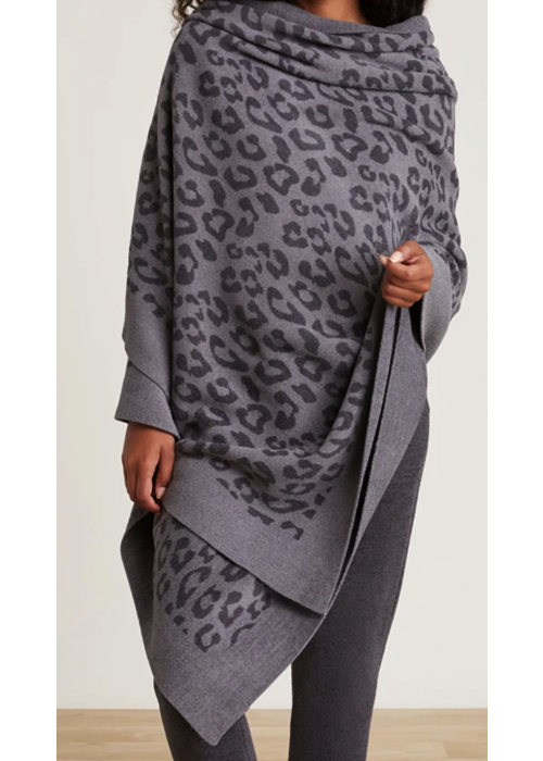 Barefoot Dreams BFD CCUL BITW Pashmina- Graphite/Carbon