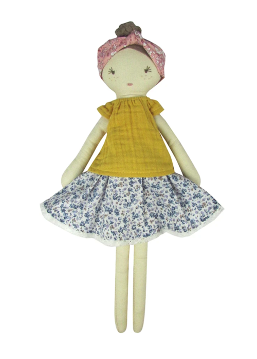 Albetta Flower Florence Doll and Bag