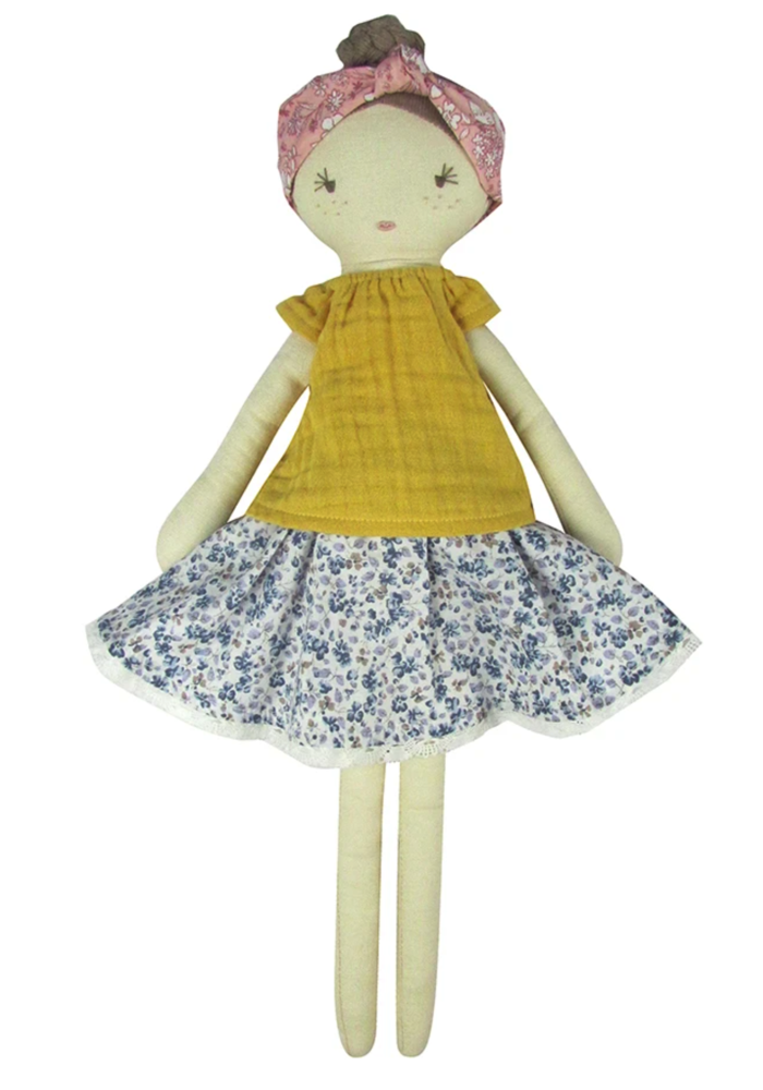 Flower Florence Doll and Bag