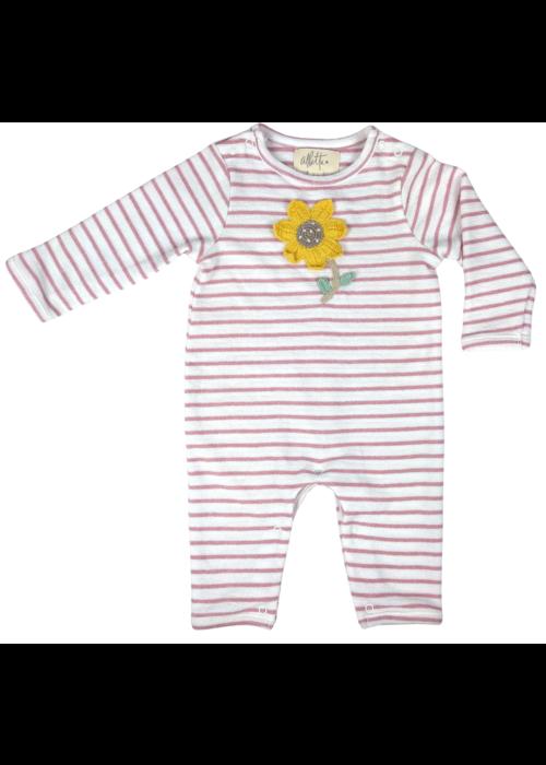 Albetta Crochet Sun Flower Babygro