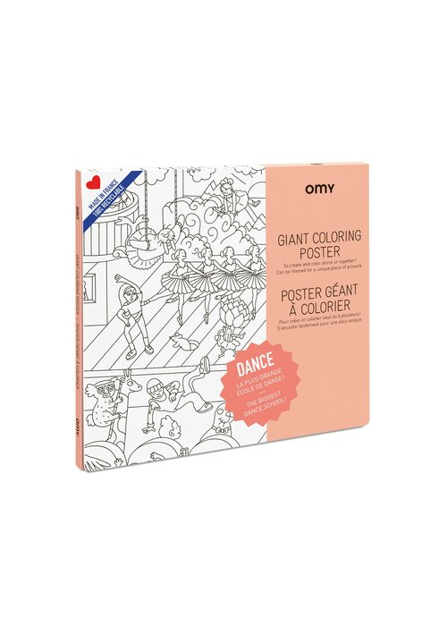 OMY Coloring Poster - Dance