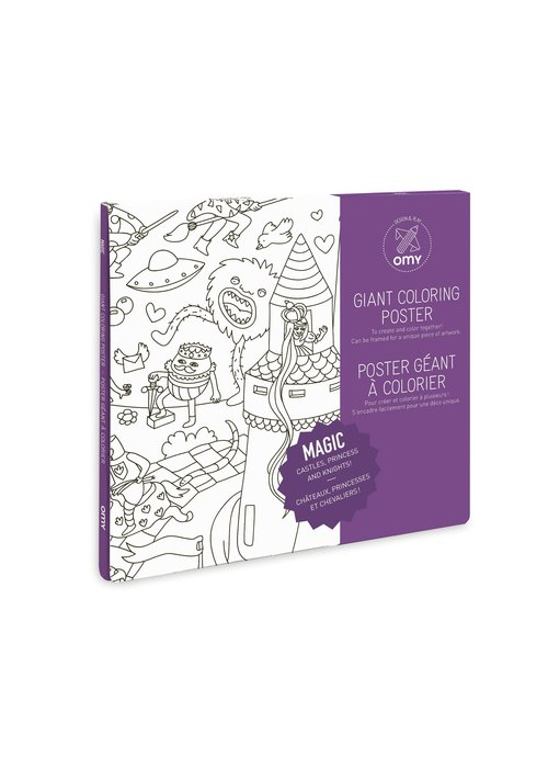 OMY Coloring Poster - Magic