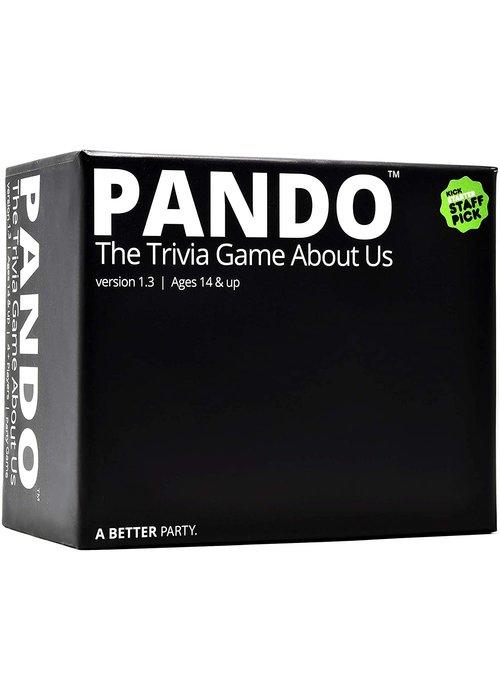 Pando Pando Trivia Game