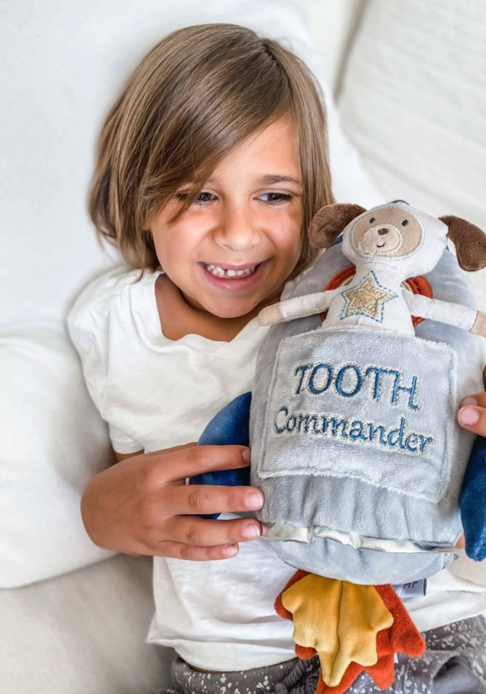 Spaceship Tooth Commander-Tooth Fairy Pillow