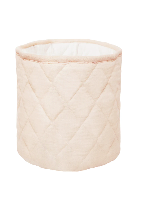 Pink Quilted Bin