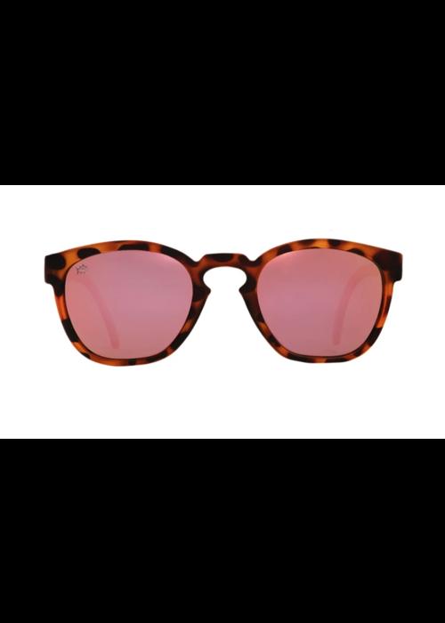 Rheos Rheos ST Seabrooks Tortoise Rose Sunglasses