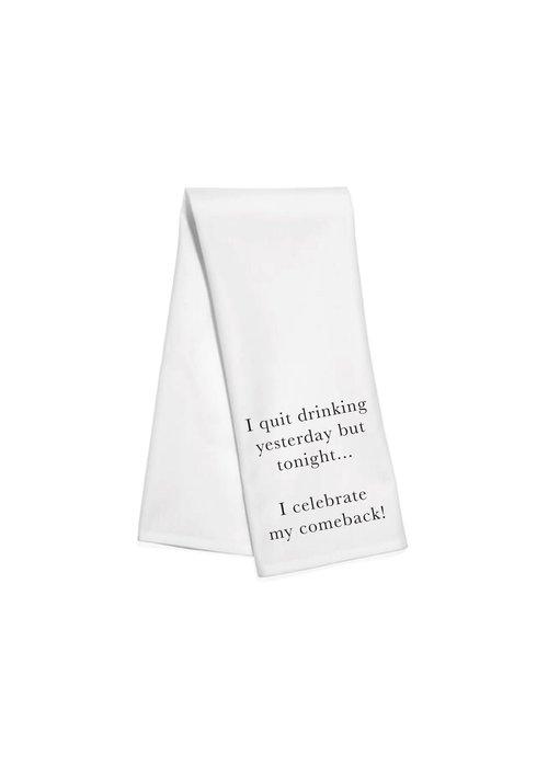 Celebrate Comeback Kitchen Towel