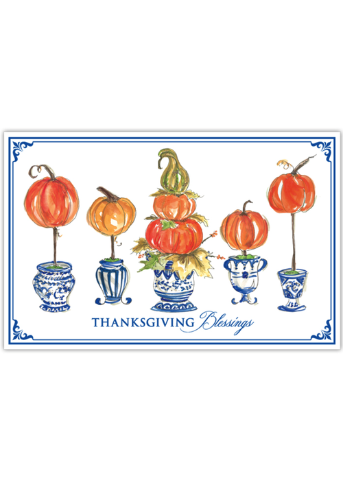 Thanksgiving Blessings Placemat Set