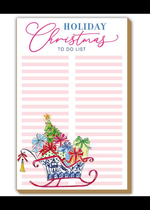 Luxe To Do List- Christmas Sleigh