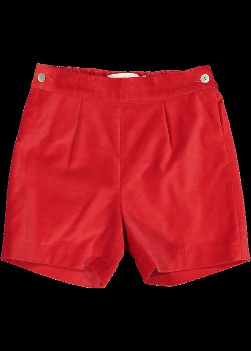 Sal & Pimenta SP Red Velvet Boy Shorts