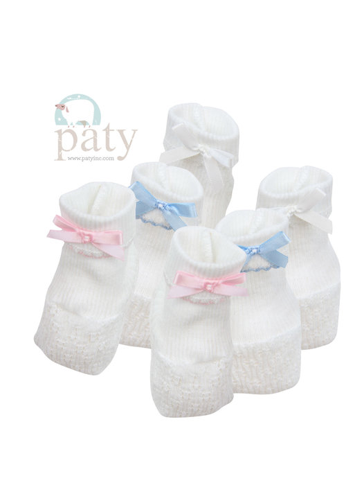 Paty Paty Booties-White