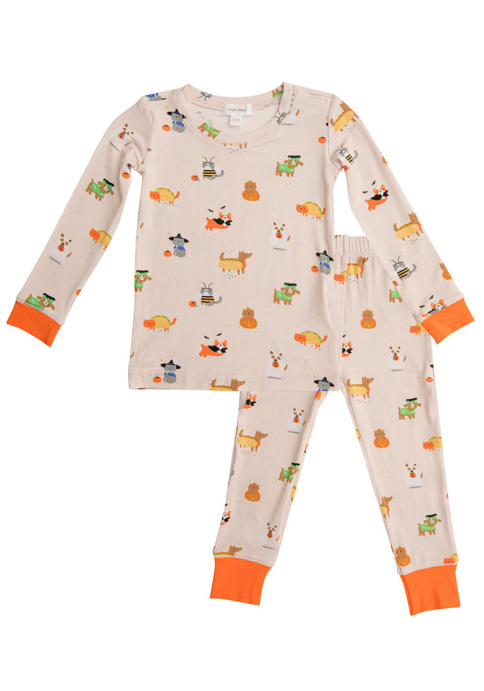 AD Costumed Dogs and Cats Lounge Wear Set Multi