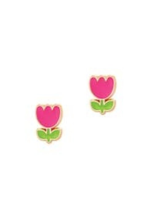 Girl Nation GN Tiny Tulip Cutie Studs