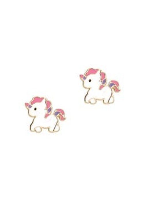 Girl Nation GN Magical Unicorn Cutie Studs