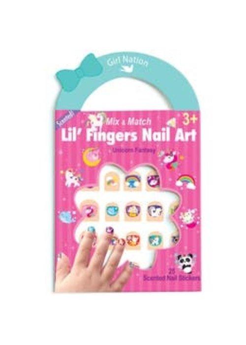 Girl Nation GN Lil' Fingers Nail Art- Unicorn Fantasy