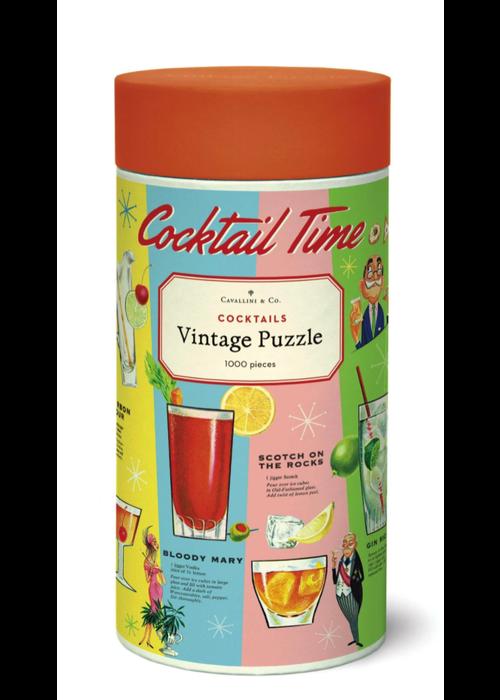 CP Vintage Cocktails 1000 Piece Puzzle