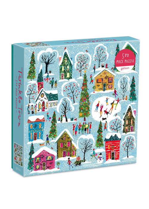 HACH Twinkle Town 500 Pc Puzzle