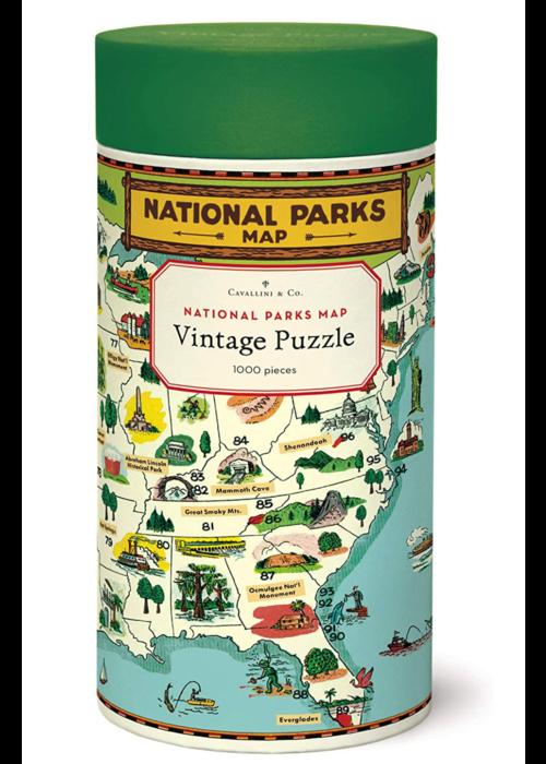 CP National Parks MAP 1000 Piece Puzzle