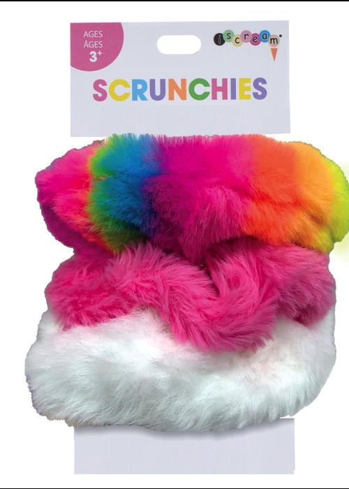 Rainbow Scrunchie Set