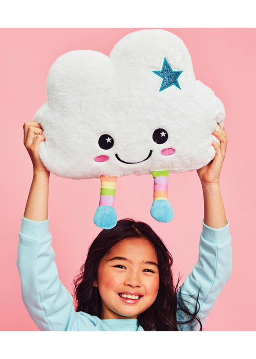 Cheerful Cloud Pillow