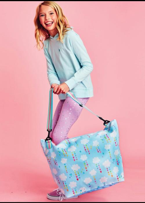 Cheerful Clouds Weekender Bag