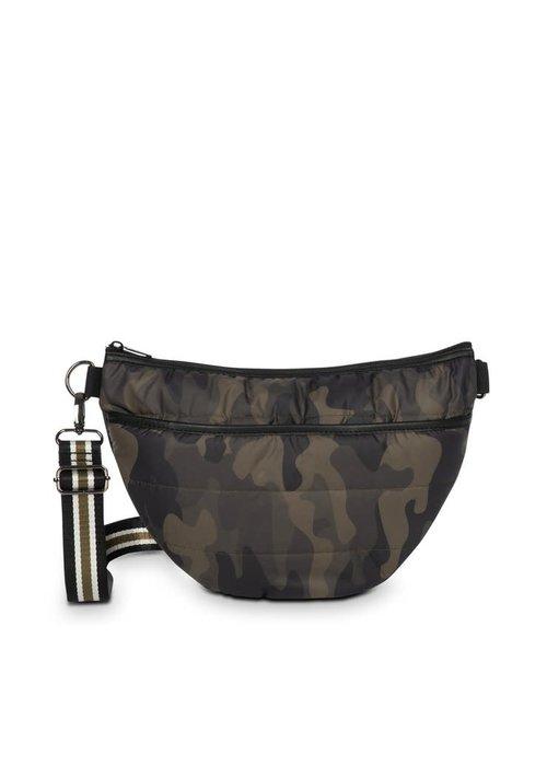 Haute Shore HS Brett Belt Bag - Sarg - Green Camo/Black White Olive Stripe Strap
