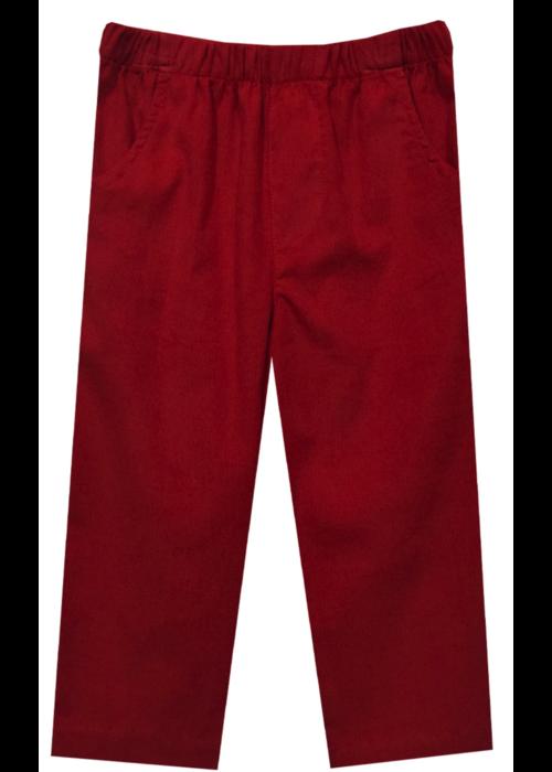 Vive la Fete Vive La Fete Corduroy Boys Pants Red